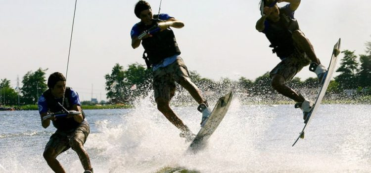 faire du wakeboard